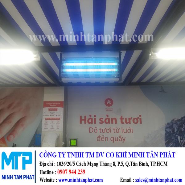 Lắp đặt đèn diệt muỗi cho siêu thị ở HCM
