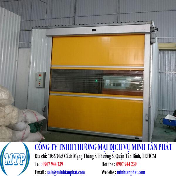 Cửa cuốn tốc độ cao, cửa đóng mở nhanh cho nhà máy