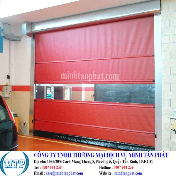 Cửa cuốn tốc độ cao, cửa cuốn đóng mở nhanh cho nhà xưởng