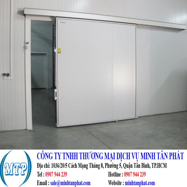 Cửa trượt kho lạnh cho phòng lạnh, kho lạnh nhà máy
