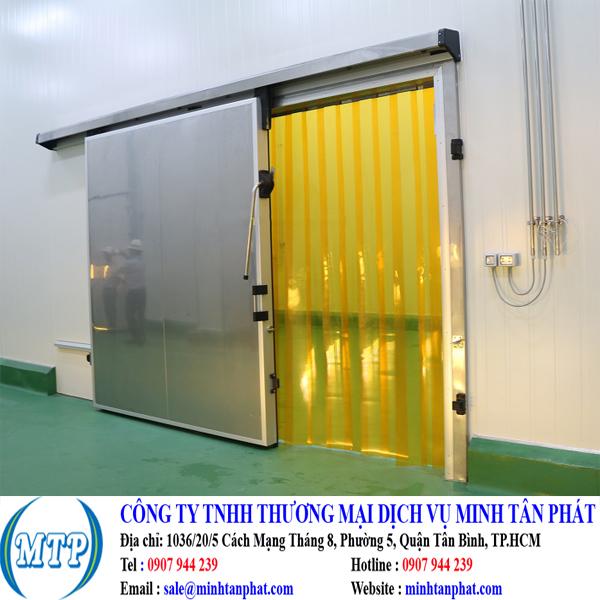 Cung cấp cửa kho lạnh, cửa trượt kho lạnh cho nhà máy